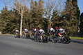 Tirreno Adriatico, first stage Stock Photos