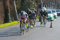 Tirreno Adriatico, first stage Royalty Free Stock Photos