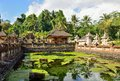 Tirta empul temple in bali indonesia Royalty Free Stock Images