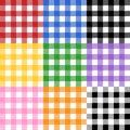 Tischdecke-Muster Stockfotografie