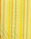 Tissu jaune de piste avec des rides Photographie stock