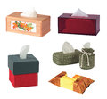 Tissue boxes Royalty Free Stock Photo