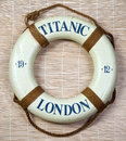 Titanic  Lifesaver Royalty Free Stock Photo