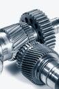 Titanium aerospace gears wheels