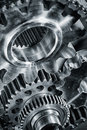 Titanium and steel aerospace gears