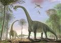 Titanosaur Argentinosaurus