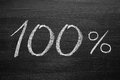 Titel percent Fotografering för Bildbyråer