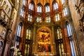 Titian Assumption Mary Painting Santa Maria Gloriosa de Frari Ch Royalty Free Stock Photo