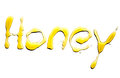 Title honey isolated from real Stock Images