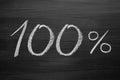 Titolo percent Immagine Stock