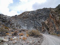 Titus Canyon Road Royalty Free Stock Photo
