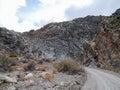 Titus Canyon Road Royalty Free Stock Photo