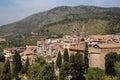Tivoli italy view of near rome from the villa d este Stock Photography