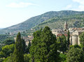 Tivoli panorama of the beautiful city of italy Royalty Free Stock Image