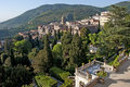 Tivoli villa d este rome view from the terrace Royalty Free Stock Photos