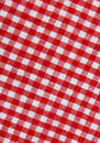 Tkaniny tablecloth Fotografia Royalty Free