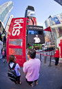 Tkts new york sept famous cheap tickets booth for broadway theater tickets in times square on september nd in manhattan new york Royalty Free Stock Photography