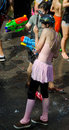 Tlv water war shooting in july tel aviv israel Royalty Free Stock Photos
