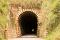 Túnel mont serrat ferrovia brusque santa catarina brasil old historic tunnel to freight trains ore and wood in southern brazil Royalty Free Stock Photography