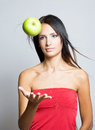 To diet or not ot diet. Royalty Free Stock Photography