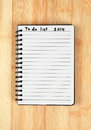 To do list for new year Stock Photos