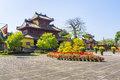 To mieu temple imperial city hue hien lam pavilion in the complex thua thien province province vietnam Stock Photo