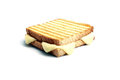 Toast with cheddar Royalty Free Stock Photo