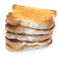 Toast-Stapel Lizenzfreie Stockfotos