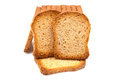 Toast of wheat and rye Stock Photo