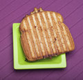 Toasted Cheese Sandwich Stock Image
