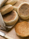 Toasted English Muffins Royalty Free Stock Photo