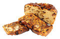 Toasted Irish Barmbrack Sweet Bread Slices With Butter Royalty Free Stock Photo