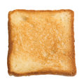 Toasted slice of bread Royalty Free Stock Photo