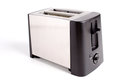 Toaster close up of on white background Royalty Free Stock Image