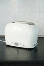 Toaster in kitchen at home Royalty Free Stock Photo