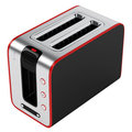 Toaster with red contour Royalty Free Stock Photography