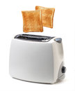 Toaster toast popping out of Stock Images