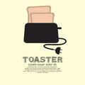 Toaster vector illustration eps Stock Photos