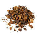 Tobacco isolated on white background a pile of a Royalty Free Stock Photos