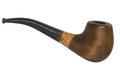 Tobacco pipe isolated Royalty Free Stock Images