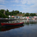 Tobermory harbour Mull Royalty Free Stock Images