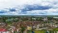 Tobolsk church zachariah and elizabeth centre top view russia siberia asia irtysh river panorama Royalty Free Stock Image