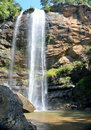 Toccoa falls waterfall at georgia usa Royalty Free Stock Photography