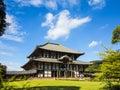 Todai ji temple main hall at Nara Royalty Free Stock Photo