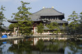 Todai-ji temple in Nara Stock Photo