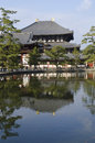 Todai-ji temple in Nara Royalty Free Stock Photography