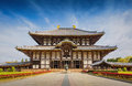 Todaiji Temple in Nara , Japan Royalty Free Stock Photo