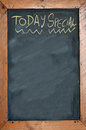 Today special written on chalkboard concept photo of food and drinks Stock Photos