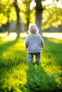 Toddler in the park Royalty Free Stock Photo