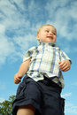 Toddler walking Stock Photos